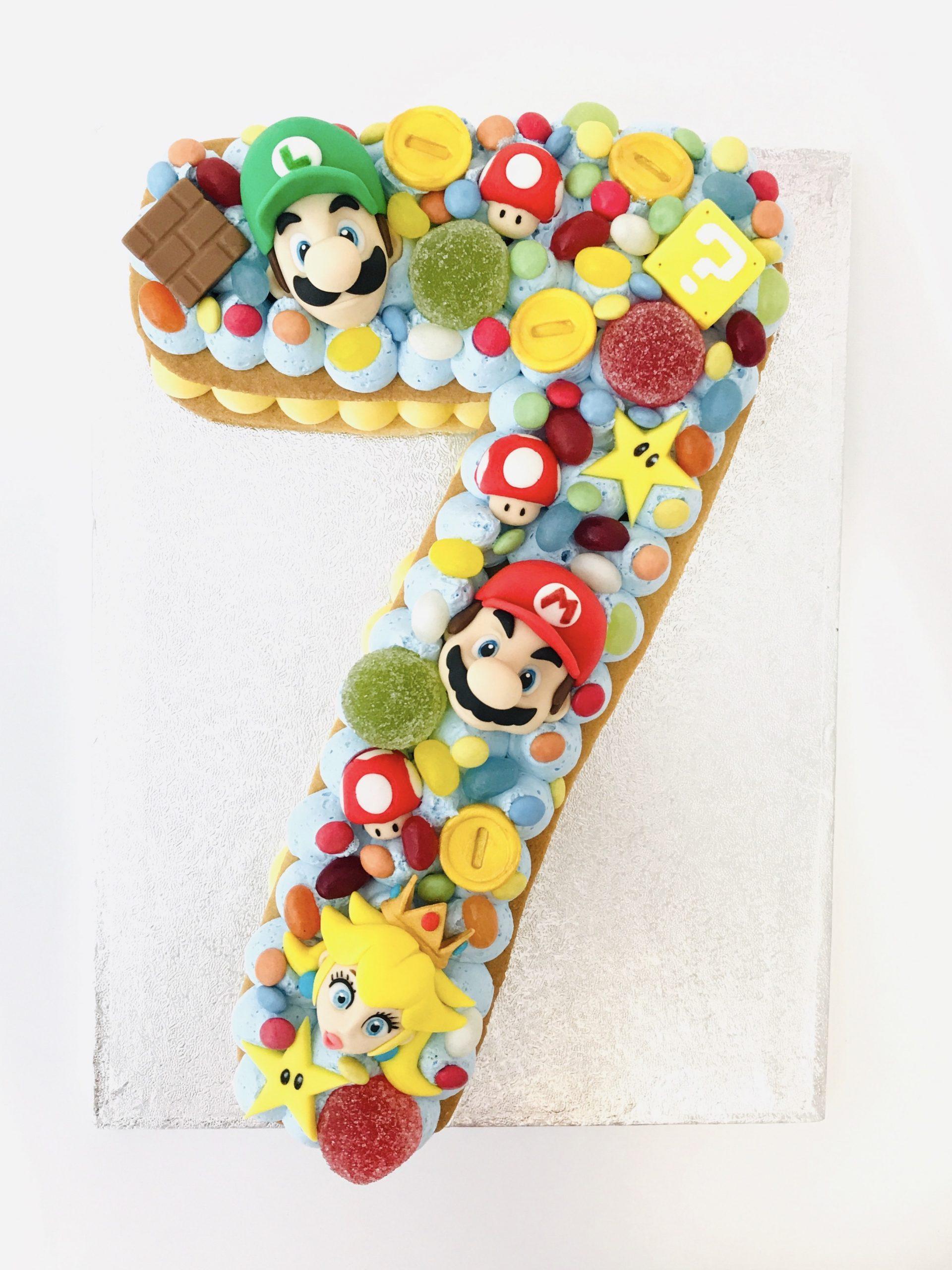 Super Mario koektaart